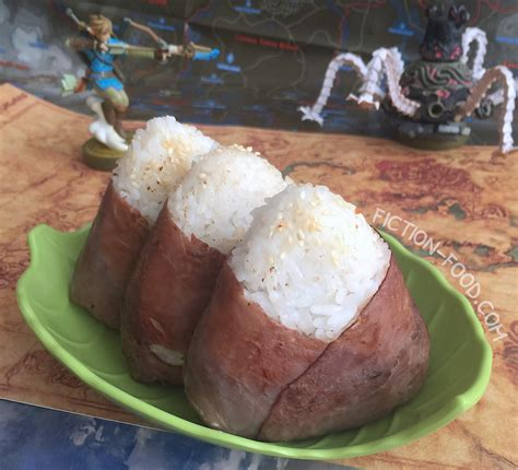fiction food cafe meaty rice balls legend  zelda