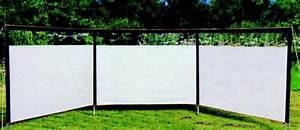 Windschutz Camping Stabil : heusser windschutz 600x150cm ~ Watch28wear.com Haus und Dekorationen