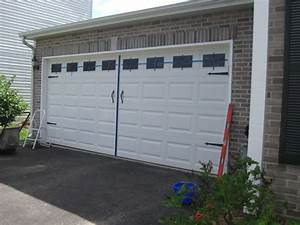 diy carriage garage doors on the cheap home ideas With cheap carriage garage doors