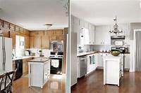 painting kitchen cabinets white Paint Kitchen Cabinets White Before and After - Home ...