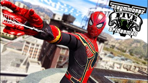 Iron Spiderman Suit! Lspdfr Is Back (gta 5 Spiderman Mod