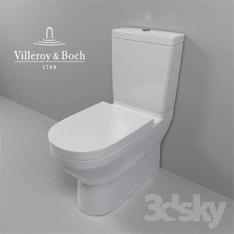 villeroy und boch o novo spülrandlos 3d models toilet and bidet villeroy boch o novo