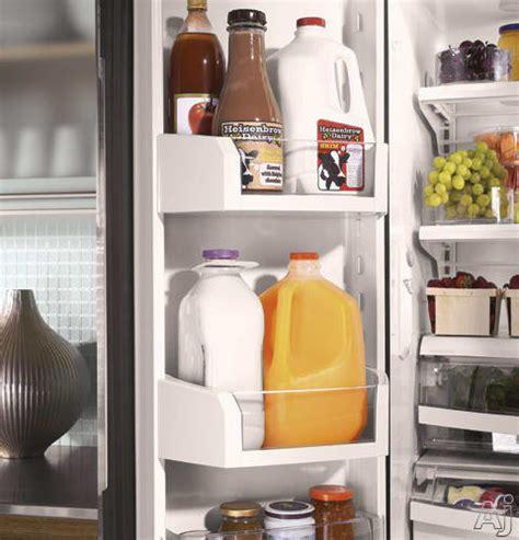 monogram zfgphzss  cu ft counter depth french door refrigerator  spill proof glass