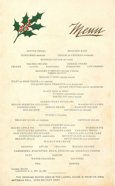 Whilst concerns over supermarket stock shortages and delivery slots may be preoccupying shoppers less now, many are wondering what effect the pandemic will have had on. The American Menu: Christmas at the Winter Resorts