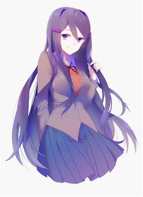 Join now to share and explore tons of collections of awesome wallpapers. Doki Doki Literature Club Yuri - Yuri Ddlc Wallpaper Phone, HD Png Download - kindpng
