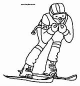 Coloring Pages Skiing Skier Clipart Colouring Supplies Clip Template Sports Printable Slalom Clipground 20coloring 20supplies 20pages Theclipartwizard Snow sketch template