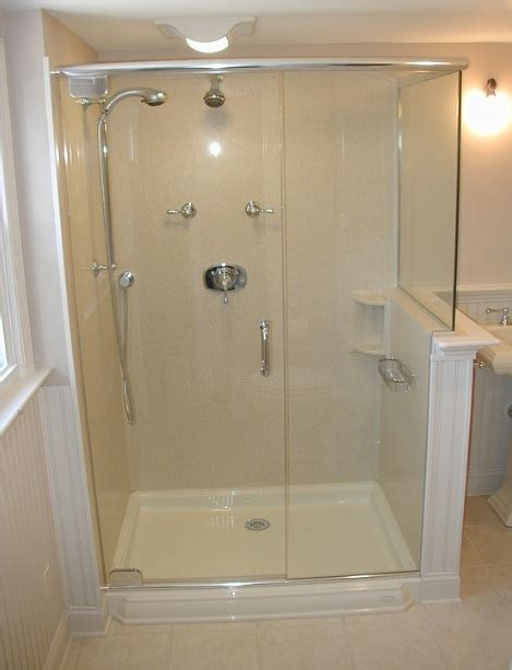 glass shower stalls various bathroom shower stall ideas you can get home