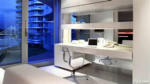 Mini home office space design ideas youtube for Design office space dwelling