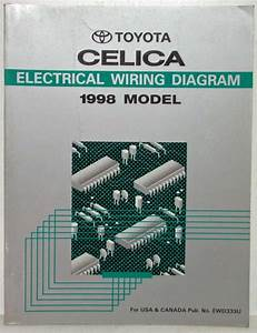 1998 Toyota Celica Electrical Wiring Diagram Manual Us
