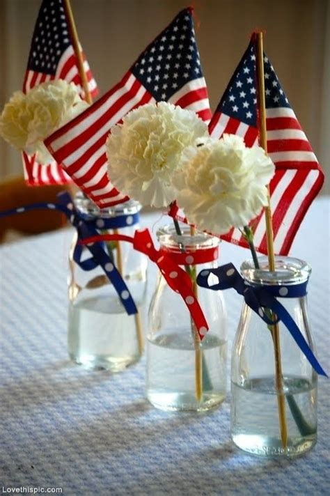 Dining Room Table Centerpiece Ideas by Decorating For July 4th Ideas Amp Inspiration