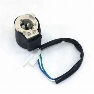 Headlight Bulb Socket Ignitor Wire Ba20d For Gy6 Vip Sunl
