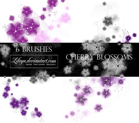 cherry blossom brushes  abr format