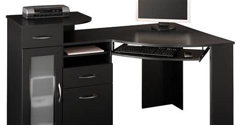 black wood computer desk black desk black corner desk
