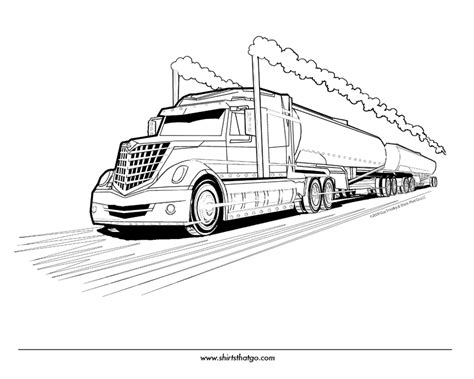 truck coloring pages color printing coloring sheets