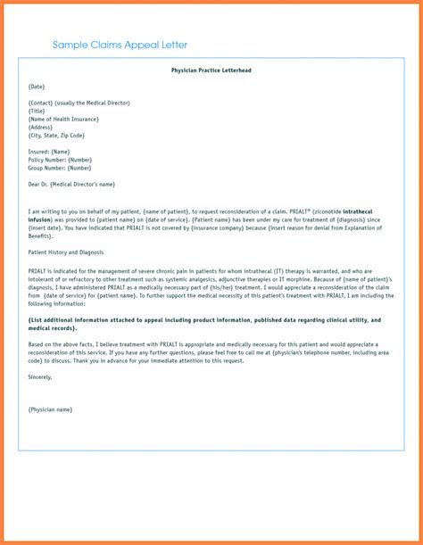 Top 5 insurance appeal letter writing takeaways. writing appeal letter soap format medical necessity letters insurance denial template business ...