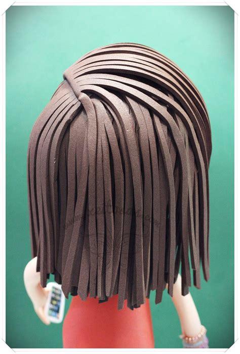 peinado liso para fofucha www xeitosas fofuchas peinados mu 241 ecas goma goma