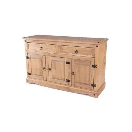 Corona Medium Sideboard by Corona Medium 2 Drawer 3 Door Sideboard Brixton Beds