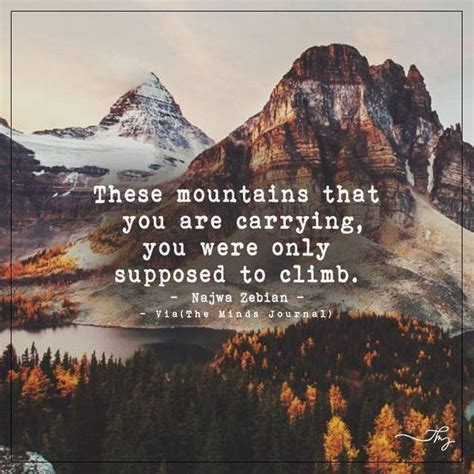 mountains    carrying