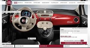 Configurer Fiat 500 : configurateur fiat 500cen voiture carine en voiture carine ~ Medecine-chirurgie-esthetiques.com Avis de Voitures