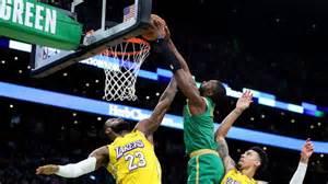 Jaylen Brown Posterizes LeBron James: NBA Twitter Reacts ...