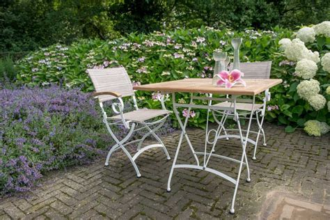 salon de jardin fer forge blanc chaise de table de jardin bellini en fer forg 233 blanc