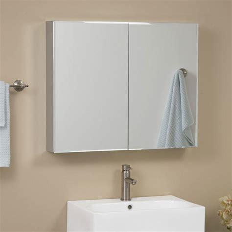clairement series aluminum door medicine cabinet with mirror