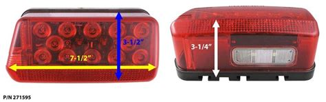 Ranger Boat Trailer Marker Lights by Replacement Led Taillights For 2003 Ranger Trail Boat