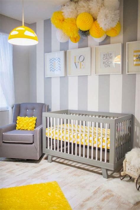 chambre jaune et gris chambres d 39 enfants en jaune et gris