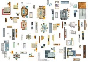 4 designer furniture plan psd layered material