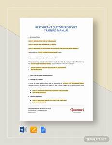 Restaurant Employee Training Checklist Template  Download