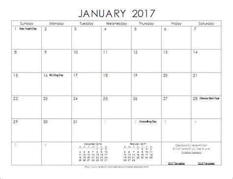 2017 calendar template pdf new 2017 printable calendars print blank calendars