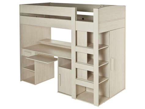 lit mezzanine bureau conforama lit mezzanine 90x200 cm montana vente de lit enfant