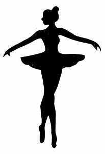 Ballerina Silhouette Clip Art - The Cliparts