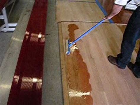 bona floor finish application flooring tutorial how to apply bona amberseal polytone