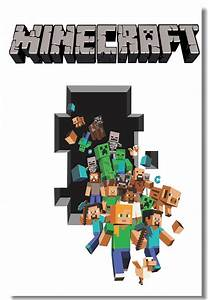 Online Buy Wholesale minecraft 3d posters from China