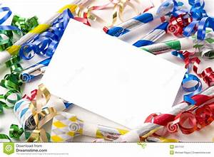 New Years Eve Or Birthday Party Invitation Stock Image ...