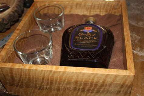 crown royal  box  bill  lumberjockscom
