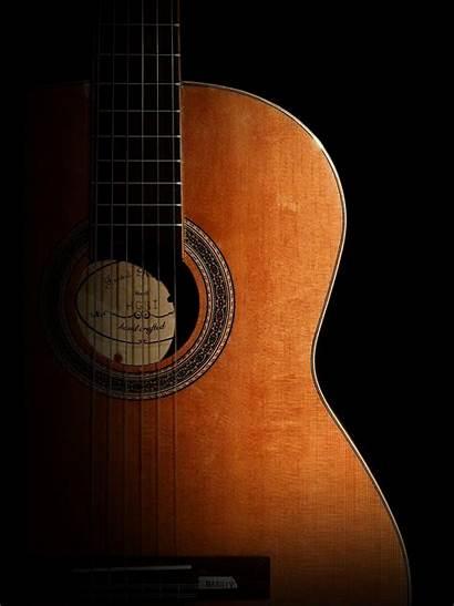 Guitar Acoustic Wallpapers Portrait Backgrounds Desktop Iphone