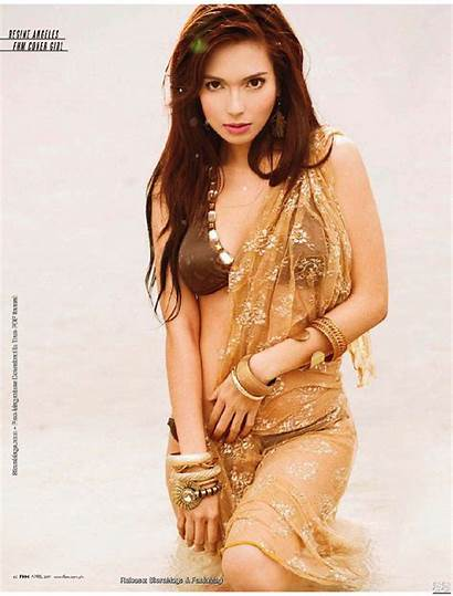 Regine Angeles Fhm Pinay Magazine Philippines Exotic
