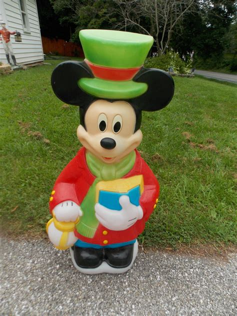 mickey mouse outdoor l post mickey mouse lights outdoor mickey mouse santa airblown
