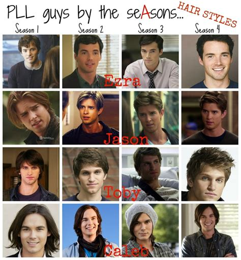 Pretty Little Liars guyes by the season: Hair Style ...