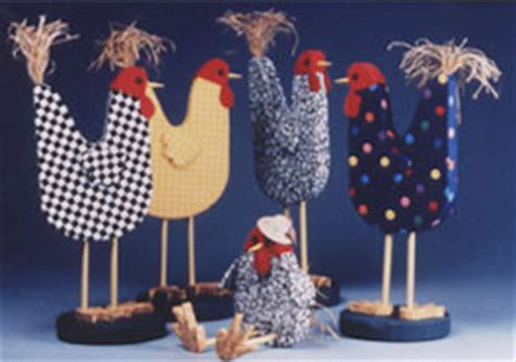 country kitchen crafts rustic country chicken figurines favecrafts 2771