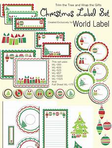 Christmas labels ready to print worldlabel blog for World label blog