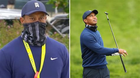 What happens when Tiger Woods shows up wearing *your* mask?