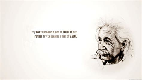Albert Einstein Success Quotes wallpaper