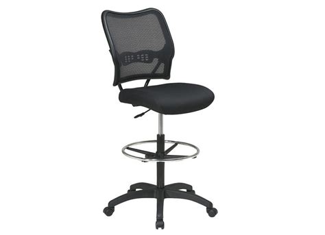 ofd 13 37n20d deluxe air grid back drafting chair with