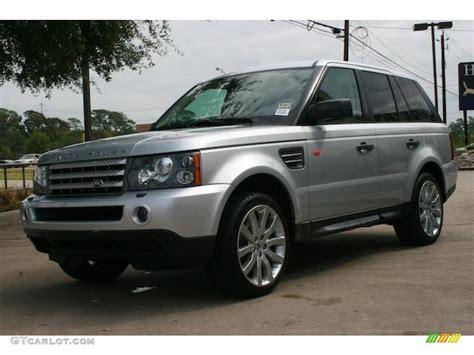 Zambezi Silver Metallic 2006 Land Rover Range Rover Sport