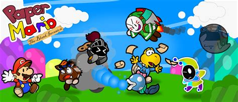 paper mario fan game paper mario 14 poster by the papernes guy on deviantart