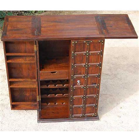 solid wood bar cabinet solid wood home bar wine 18 bottle rack liquor storage