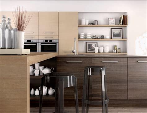modele cuisine bois moderne une cuisine moderne en bois c est possible le d